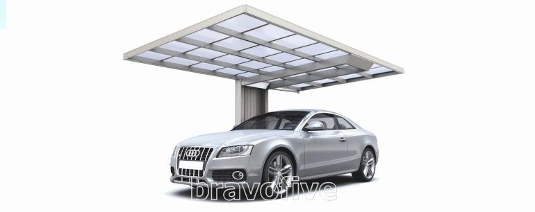 wiata garażowa aluminiowa- nowoczesna wiata aluminiowa- carport aluminiowy