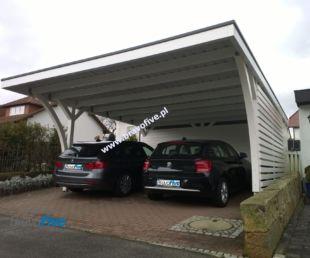 Wiata garażowa model MODERNO z pomieszczeniem gospodarczym_52